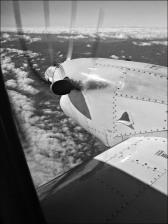 B&W Fokker © Ian Poole, 2014.