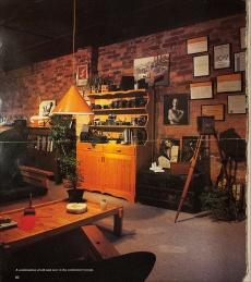 Interior of Poole Studio Office;
