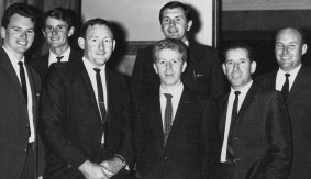 Sterling Studio Staff (Author far left)